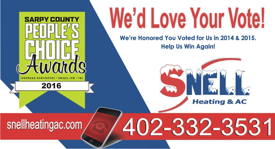 sarpy county peopls choice winner heating and cooling